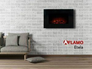 modern firesplace