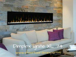 Dimplex led inbouw wandhaard